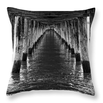 See Forever From Here Throw Pillow by Heather Applegate
