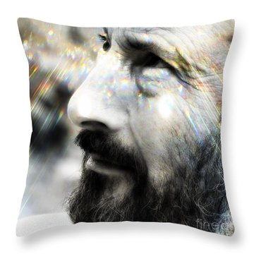 Seeing Into The Future 2 Throw Pillow by Rory Sagner