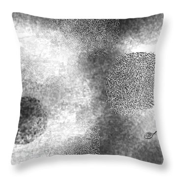 Seeking Definition Throw Pillow by Mathilde Vhargon