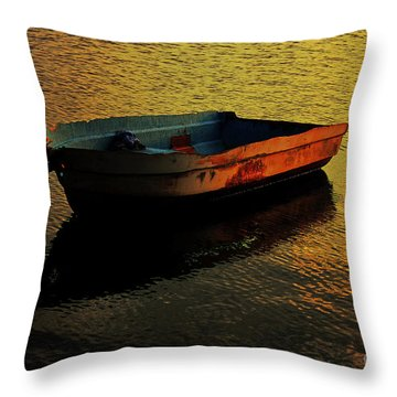 Seen Her Best Days Throw Pillow by Olahs Photography
