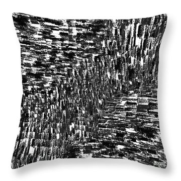 Seismic Shift Throw Pillow by Andy  Mercer