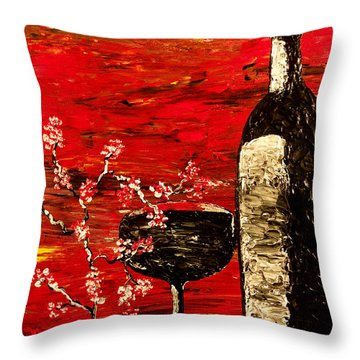 Sensual Awakening Throw Pillow by Mark Moore