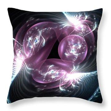 Sentinels Throw Pillow by Anastasiya Malakhova