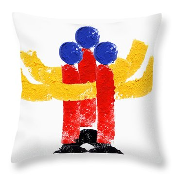 Serenade Throw Pillow by Charles Stuart