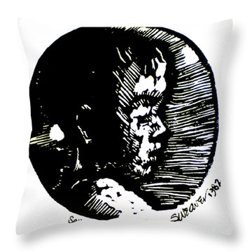 Seth 2 Throw Pillow by Seth Weaver