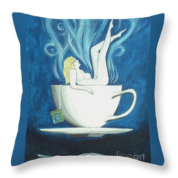Sexy Oolong Throw Pillow by John Lyes