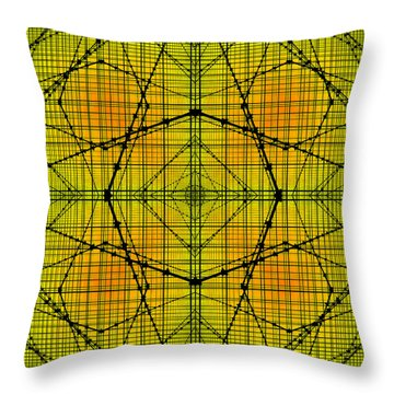 Shades 15 Throw Pillow by Mike McGlothlen