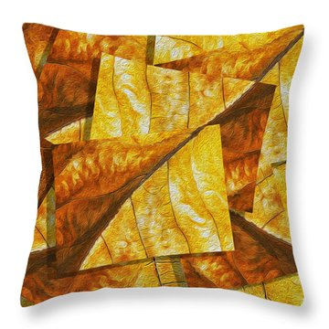 Shades Of Autumn Throw Pillow by Jack Zulli
