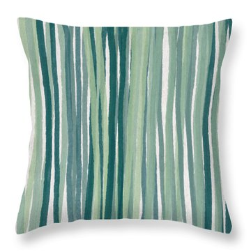 Shades Of Blue Throw Pillow by Aged Pixel