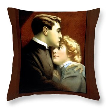 Sherlock Holmes Throw Pillow by Terry Reynoldson