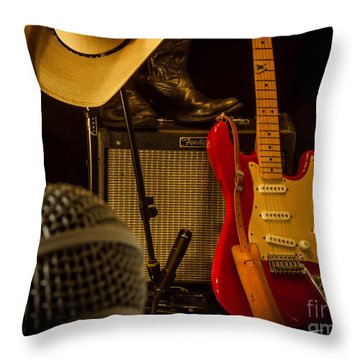 Show's Over Throw Pillow by Robert Frederick