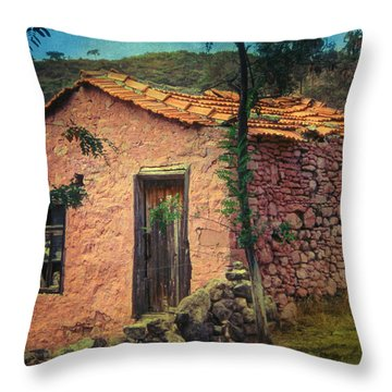 Sighed Throw Pillow by Taylan Soyturk