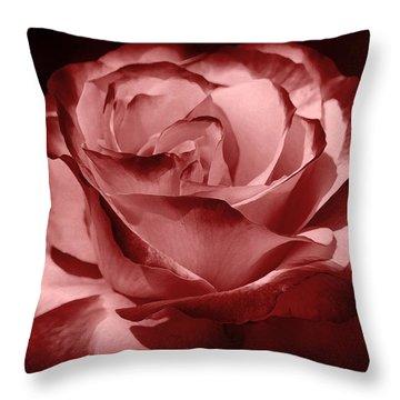 Silk  Throw Pillow by Athala Carole Bruckner