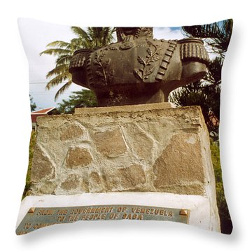 Simon Bolivar (1783-1830) Throw Pillow by Granger