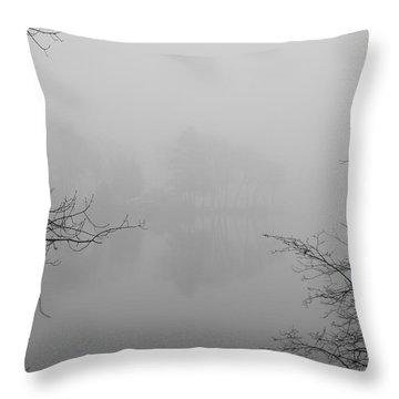 Simple Pleasures Throw Pillow by Luke Moore