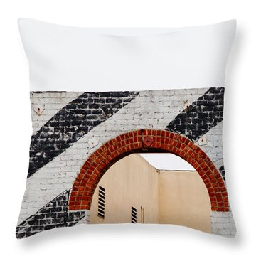 Simplicity Throw Pillow by Art Block Collections