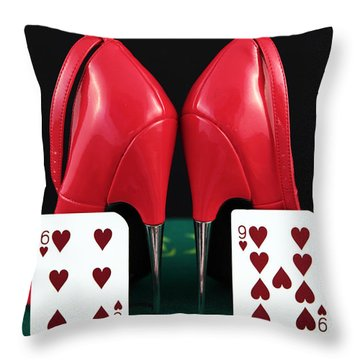 Sixty Nine Throw Pillow by John Rizzuto