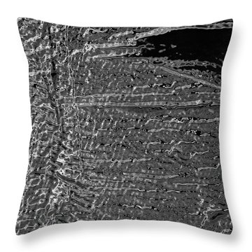 Skin No.18 Effect Throw Pillow by Fei A