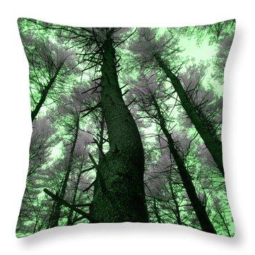 Sleepwalking Throw Pillow by Luke Moore