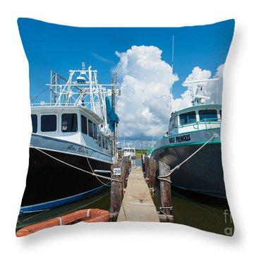 Slip 29 Throw Pillow by Susie Hoffpauir