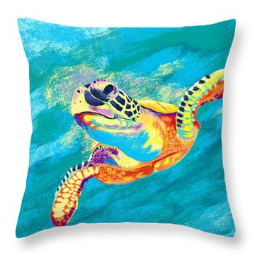 Slow Ride Throw Pillow by Kevin Putman