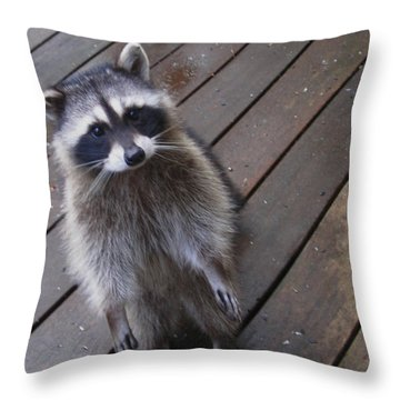So I Put My Left Foot In First Throw Pillow by Kym Backland