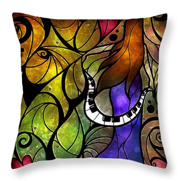 So This Is Love Throw Pillow by Mandie Manzano