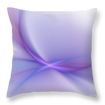 Soft Blend Throw Pillow by Elizabeth McTaggart