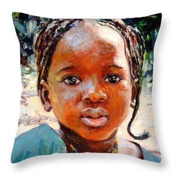 Sokoro Throw Pillow by Tilly Willis