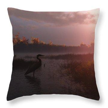 Solitary Vigil Throw Pillow by Melissa Krauss