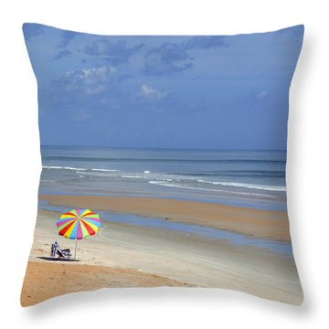 Solitude Throw Pillow by Kenny Francis