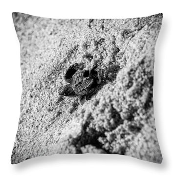 Sometimes We Fall Throw Pillow by Sebastian Musial