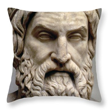 Sophocles Throw Pillow by Greek School