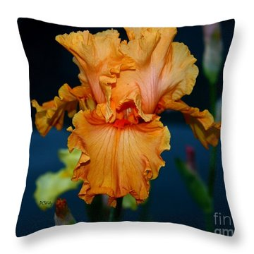 Soprano Iris Throw Pillow by Patrick Witz
