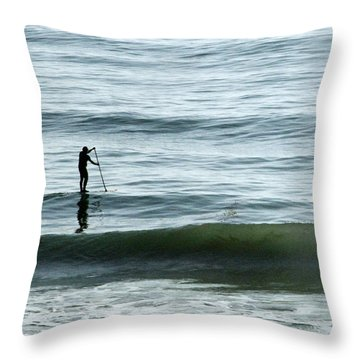 Soul Searcher Throw Pillow by Shoal Hollingsworth