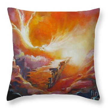 Sound Of Heaven Throw Pillow by Tamer and Cindy Elsharouni
