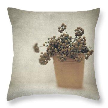 Souvenirs De Demain Throw Pillow by Taylan Apukovska