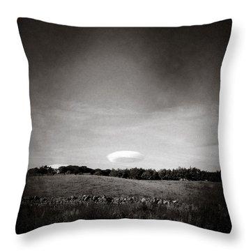 Spaceship Throw Pillow by Dave Bowman