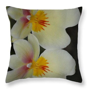 Speechless Beauty Throw Pillow by Sonali Gangane