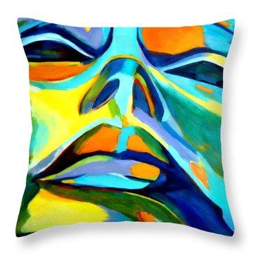 Speechless Yearning Throw Pillow by Helena Wierzbicki