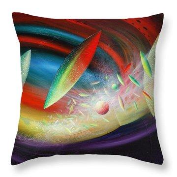 Sphere B12 Throw Pillow by Drazen Pavlovic