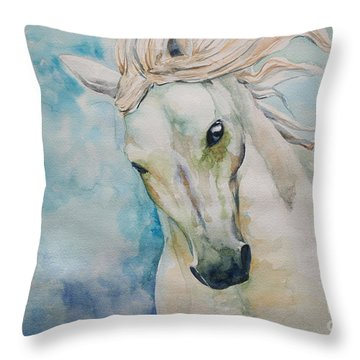 Spirit Throw Pillow by Tamer and Cindy Elsharouni