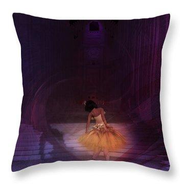 Spiritual Vortex Throw Pillow by Kylie Sabra