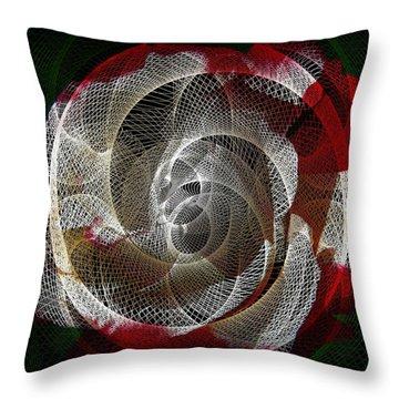 Spiro Throw Pillow by Athala Carole Bruckner