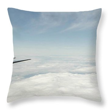 Spitfire Ace Throw Pillow by J Biggadike