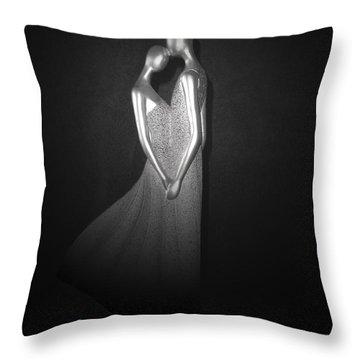 Spot Light Throw Pillow by Athala Carole Bruckner