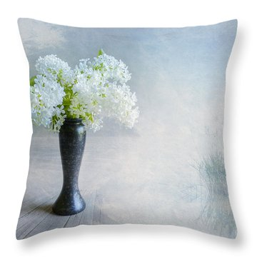 Spring Flowers Throw Pillow by Veikko Suikkanen
