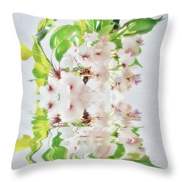 Spring Inspiration Throw Pillow by Angela Doelling AD DESIGN Photo and PhotoArt