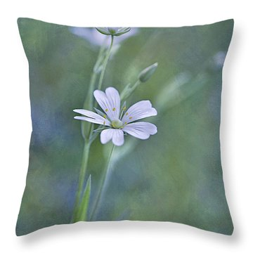 Spring Romance Throw Pillow by Maria Ismanah Schulze-Vorberg