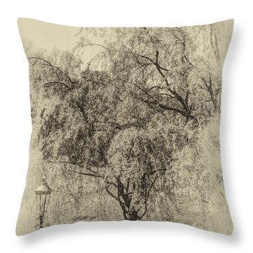 Spring Throw Pillow by Skip Tribby